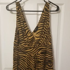 Express tiger sleeveless shirt